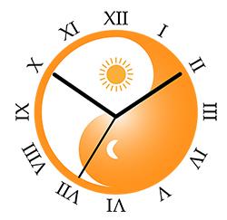 hvornår står solen op i dag